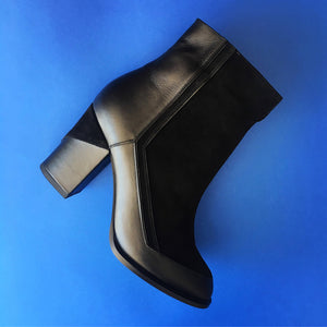 Full Black - MILAN BOOTIES -últimos 2 pares