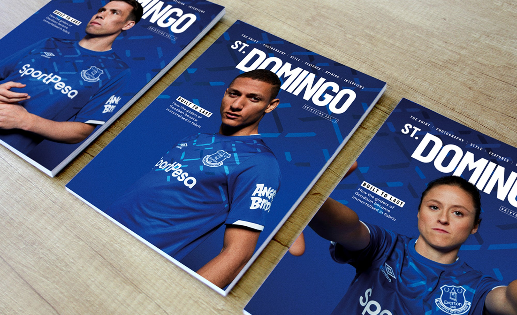 EVERTON: 'ST. DOMINGO' SHIRTZINES
