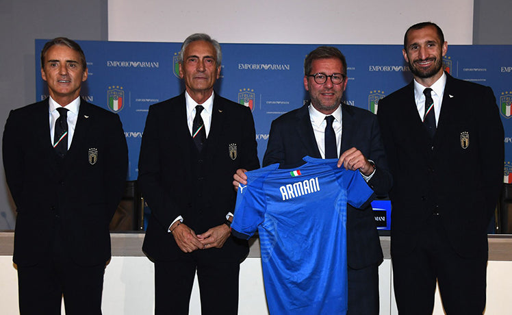 THE ITALIAN NATIONAL TEAM WILL NOW HAVE SUITS THAT MAKE THEM LOOK LIKE AGENT 47