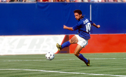 WE TALKED TO ROBERTO BAGGIO ABOUT SCORING BEAUTIFUL GOALS