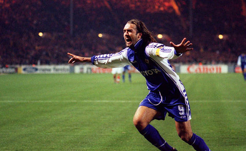 GABRIEL BATISTUTA WAS A VIOLENT VOLLEYER