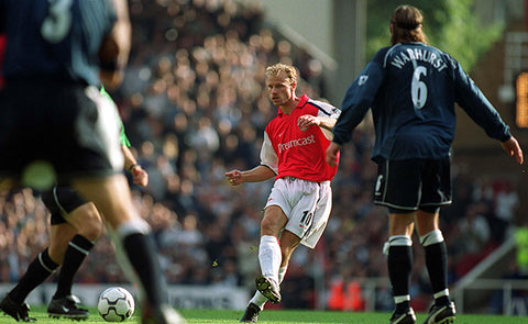 DENNIS BERGKAMP COULD MAKE THE BALL DO WHATEVER HE WANTED
