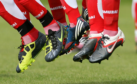 WHAT DOES YOUR CHOICE OF FOOTBALL BOOT SAY ABOUT YOU?