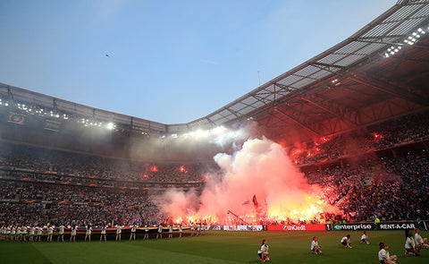 'COLD SMOKE FLARES' COULD BE THE ANSWER TO FANS' PYRO PRAYERS