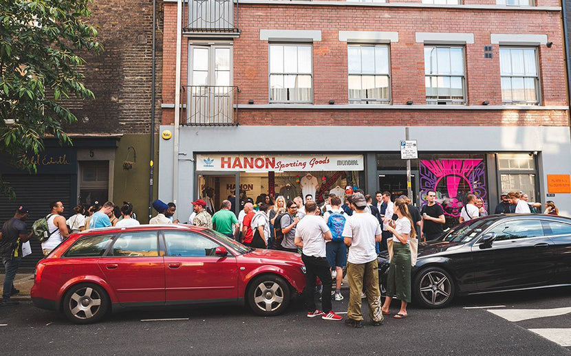 ADIDAS ORIGINALS: 'LONDON' LAUNCH WITH HANON