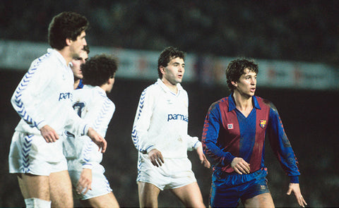 WE SPOKE TO GARY LINEKER ABOUT PLAYING FOR BARCELONA AND SCORING A HAT-TRICK V REAL MADRID