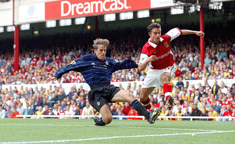 MARC OVERMARS WAS ARSENAL'S KING OF TERRORISING DEFENDERS