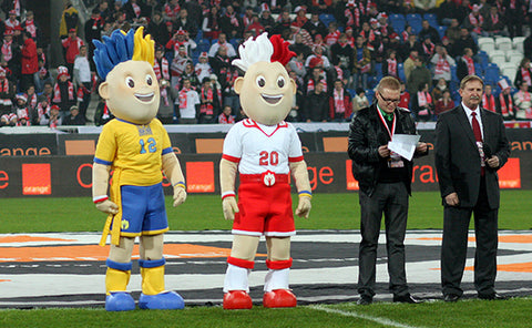 A TIMELY LOOK AT THE INNER LIVES OF MASCOTS FROM EUROS HISTORY