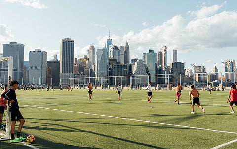 THE FIVE BEST PLACES TO PLAY FOOTBALL IN NEW YORK