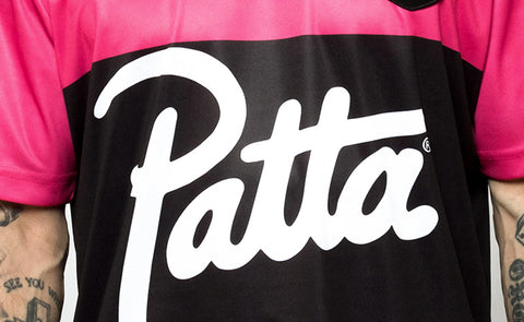PATTA SHOW FOOTBALL IS IN THEIR DNA WITH SS19 DROP