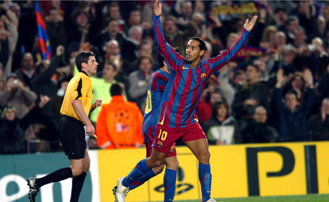 HAPPY FEET: RONALDINHO WAS SO GOOD THAT IT WAS FUNNY