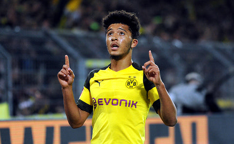 BORUSSIA DORTMUND'S JADON SANCHO HAS MORE ASSISTS THAN MESSI THIS SEASON
