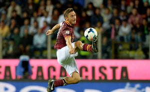 FRANCESCO TOTTI WAS THE ETERNAL PLAYER IN THE ETERNAL CITY
