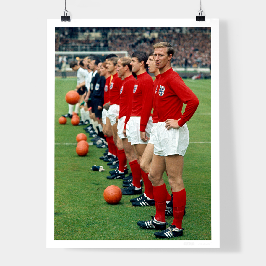 ENGLAND, WORLD CUP FINAL, 1966 - WELL OFFSIDE PHOTOGRAPHY