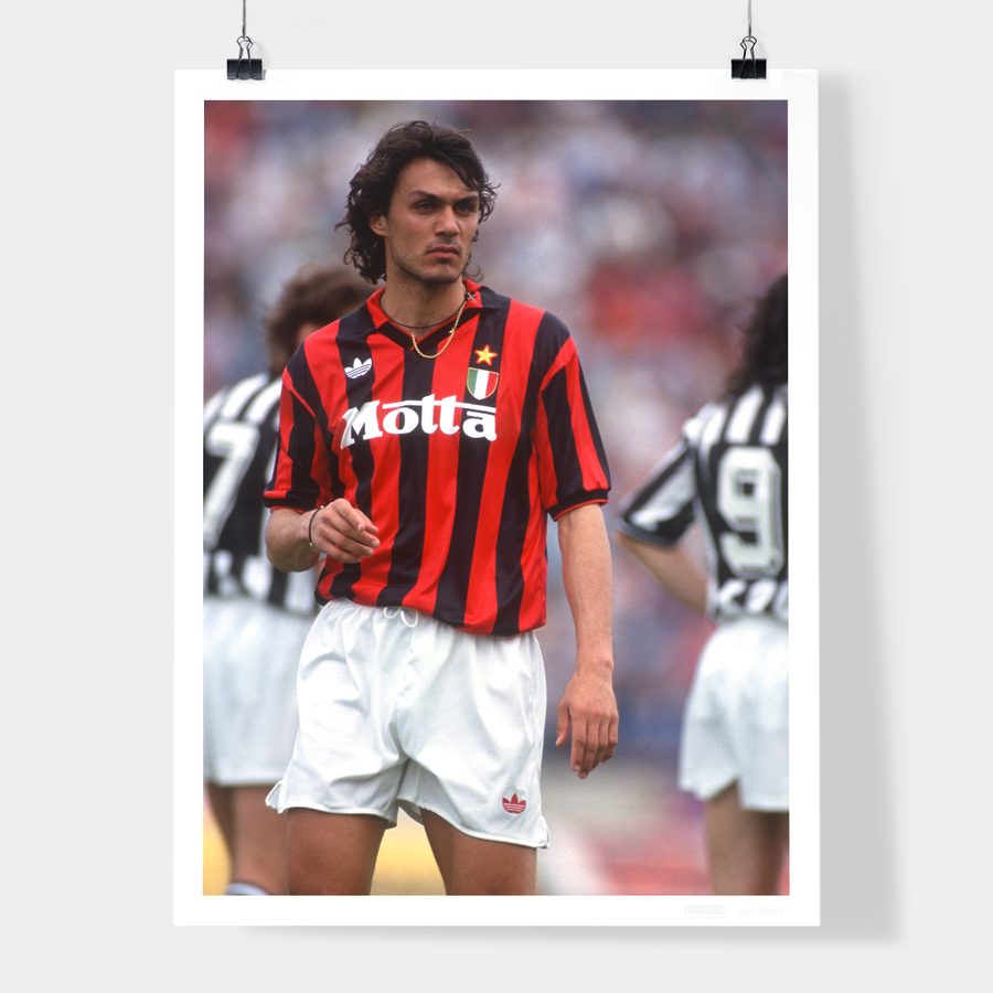 PAOLO MALDINI, AC MILAN, 1993 - WELL OFFSIDE PHOTOGRAPHY