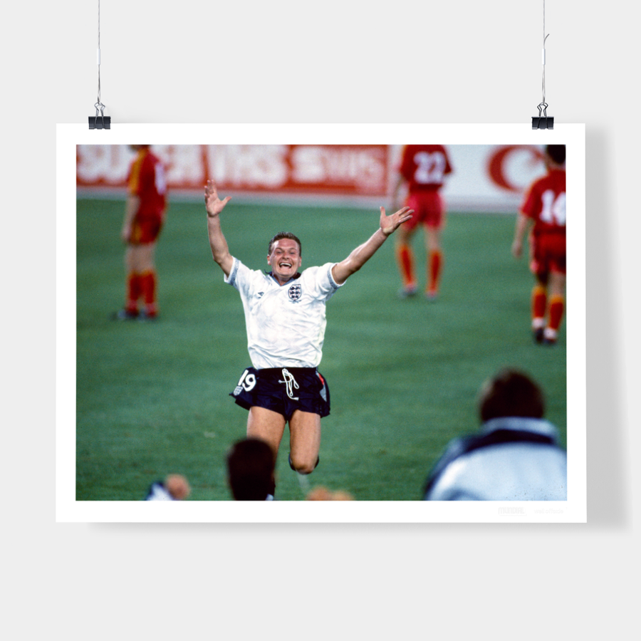 PAUL GASCOIGNE, ENGLAND, 1990 - WELL OFFSIDE PHOTOGRAPHY