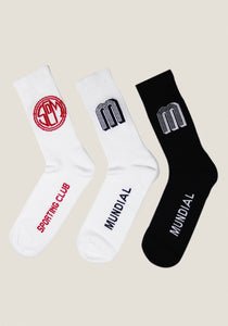 MUNDIAL SPORTS SOCK TRIPLE PACK