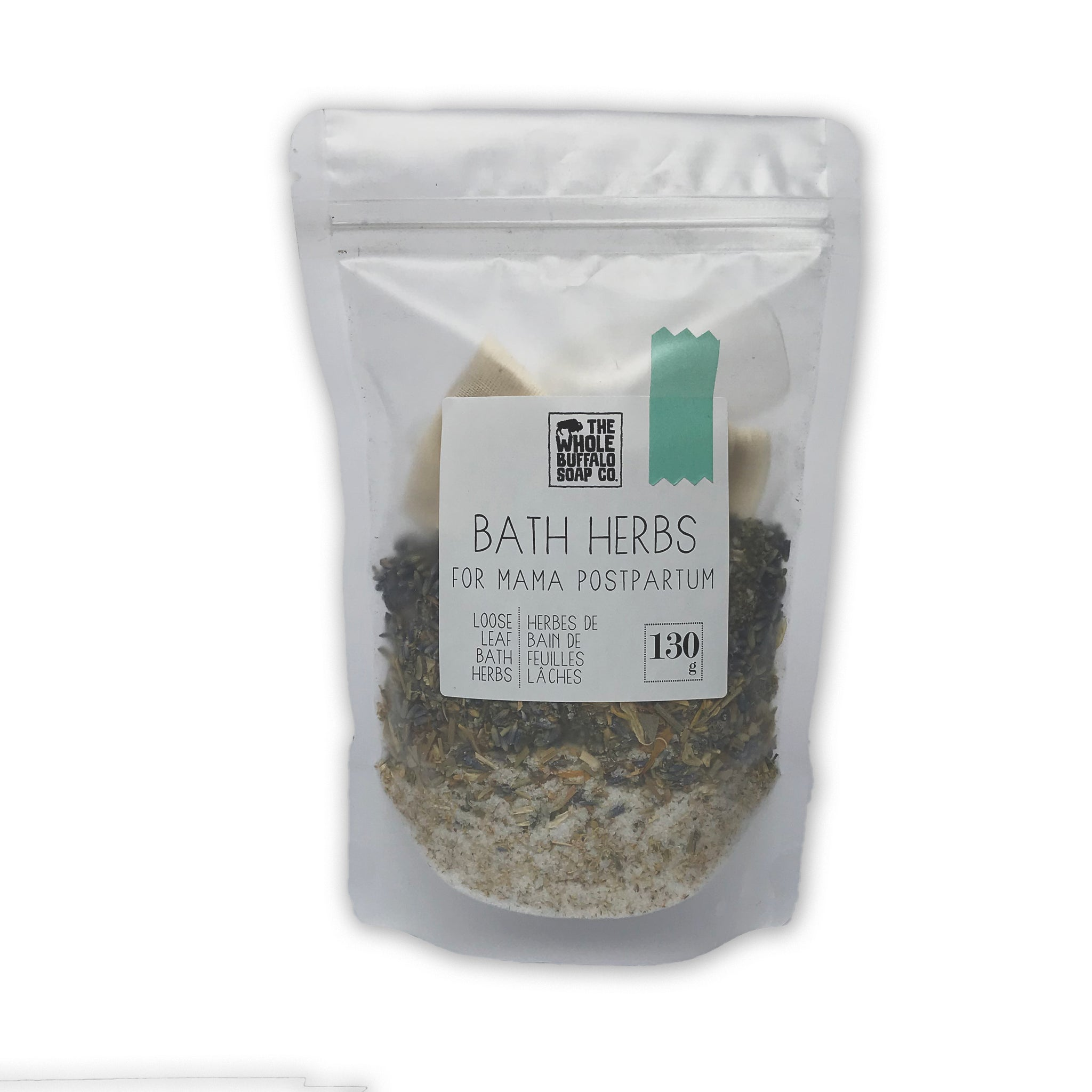 Bath Herbs for Mama Postpartum