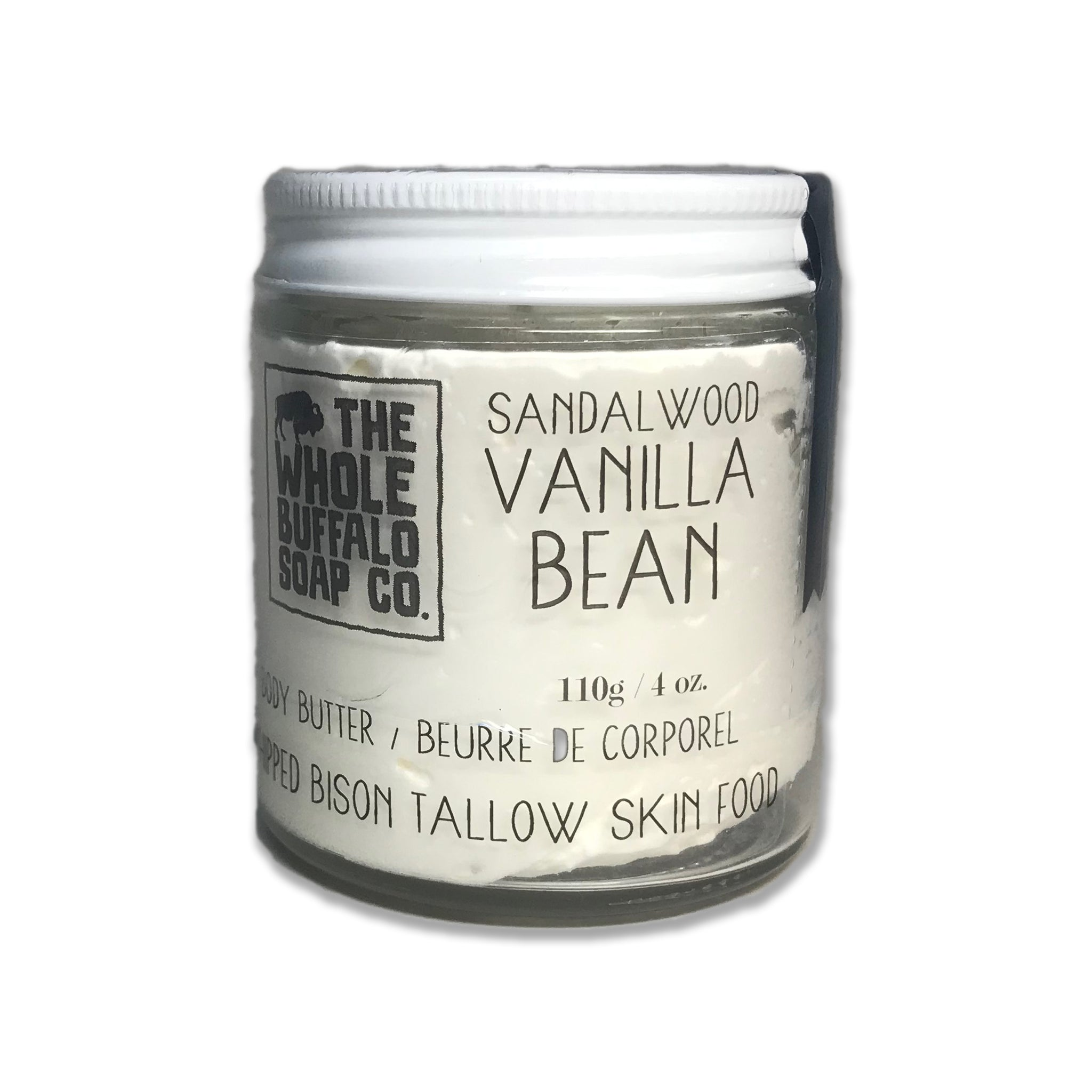 Tallow Body Butter - Sandalwood Vanilla Bean