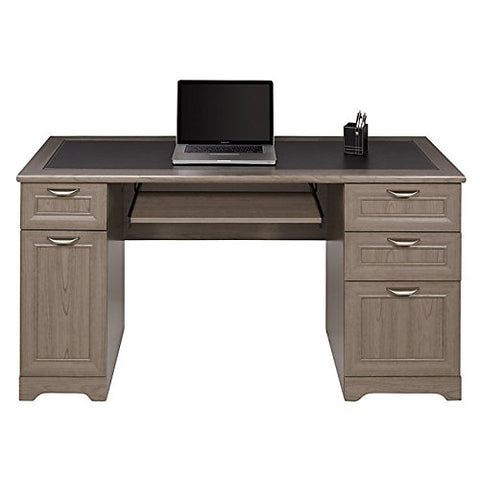 Realspace Magellan Collection Managers Desk, Gray