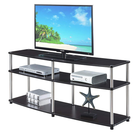 Convenience Concepts 131060ES Designs2Go 3-Tier TV Stand