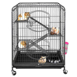 "ZENY 37"" Ferret Cage Rabbit Guinea Pig Chinchilla Rat Small Animal House 4 Levels"
