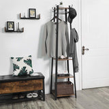 VASAGLE Industrial Coat Rack