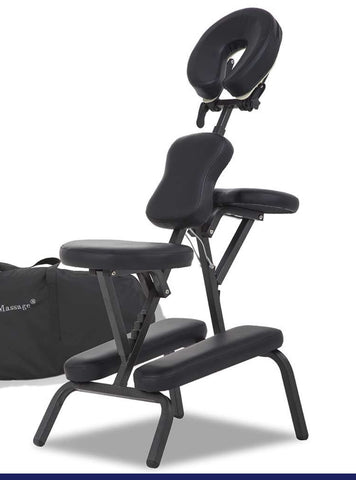 "FurniFuture Massage Chairs Tattoo Folding Chairs Adjustable 18""X 29"" X 45"""