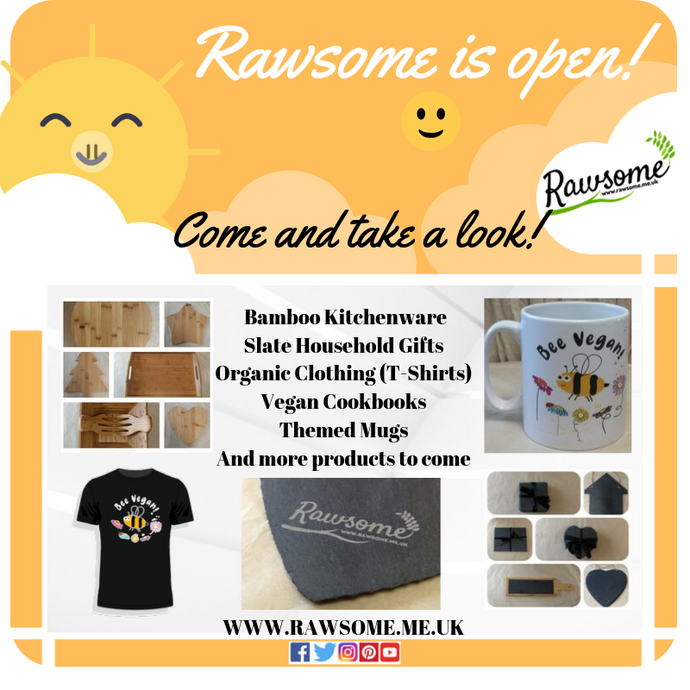 Rawsome is Officially Open!