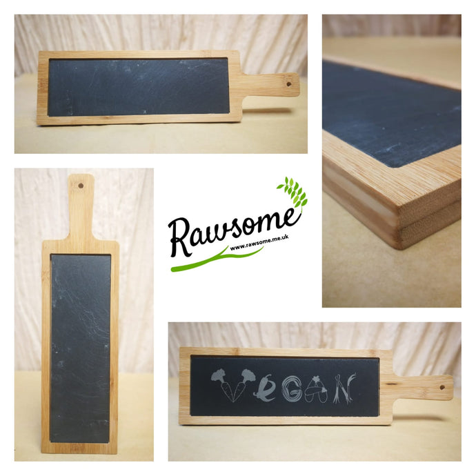 Our Serving Board with Slate Insert
