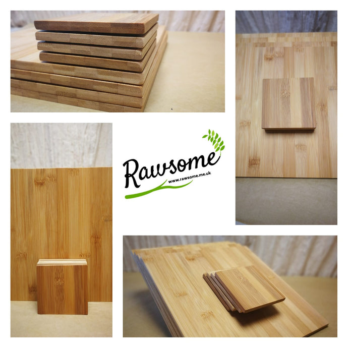 Our Bamboo Placemat And Coaster Set
