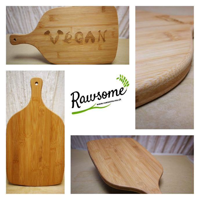 Our Bamboo Chopping Board With Handle