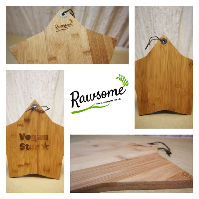 Our Star Shaped Bamboo Board