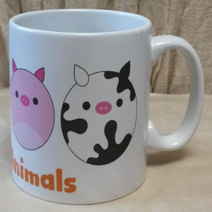 Love the Animals Coffee Mug | Unique Gift Idea | Rawsome