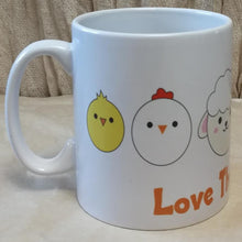 Load image into Gallery viewer, Love the Animals Coffee Mug | Unique Gift Idea | Rawsome