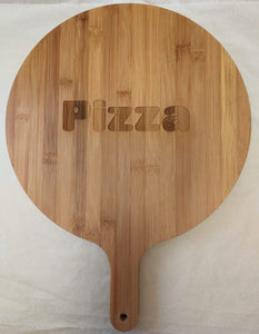 'Pizza' Bamboo Serving Board | Sustainable Gift | Rawsome