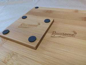 Bamboo Placemat And Coaster Set | Sustainable Gift | Rawsome
