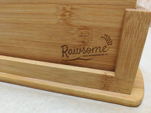 Load image into Gallery viewer, Bamboo Chopping Boards with Holder | Sustainable Gift | Rawsome