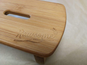 Bamboo Chopping Boards with Holder | Sustainable Gift | Rawsome