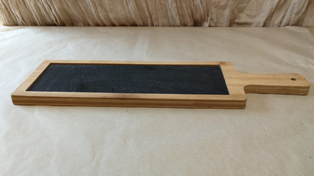 Serving Board with Slate Insert | Sustainable Gift | Rawsome