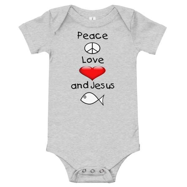 Peace Love & Jesus