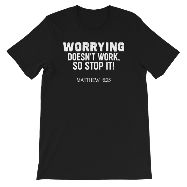 Worrying Doesn't Work