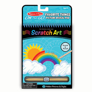 Scratch Art - Favorite Things
