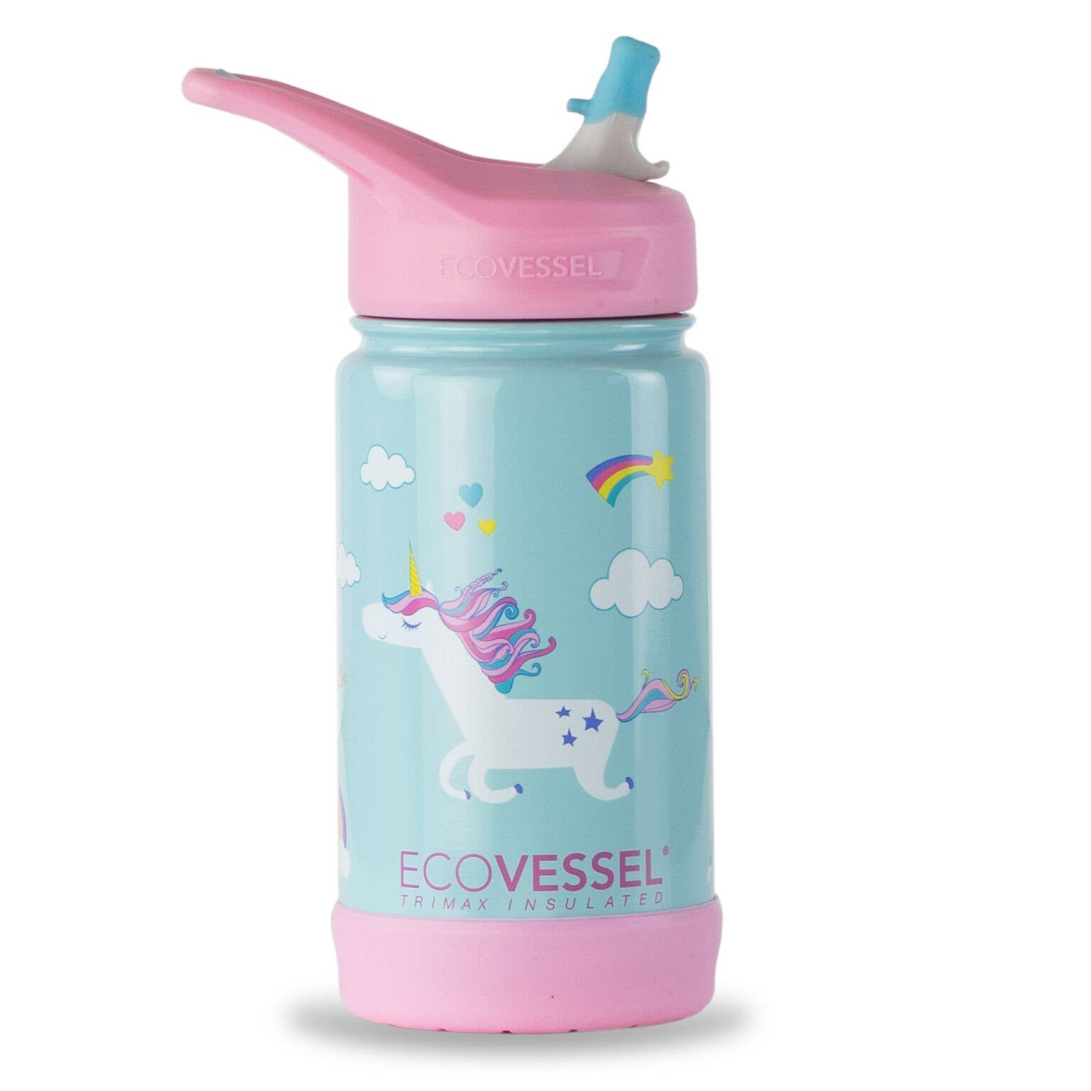 Insulated Stainless Steel Kids Bottle - Unicorn