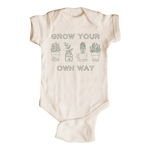 Grow Your Own Way Onesie
