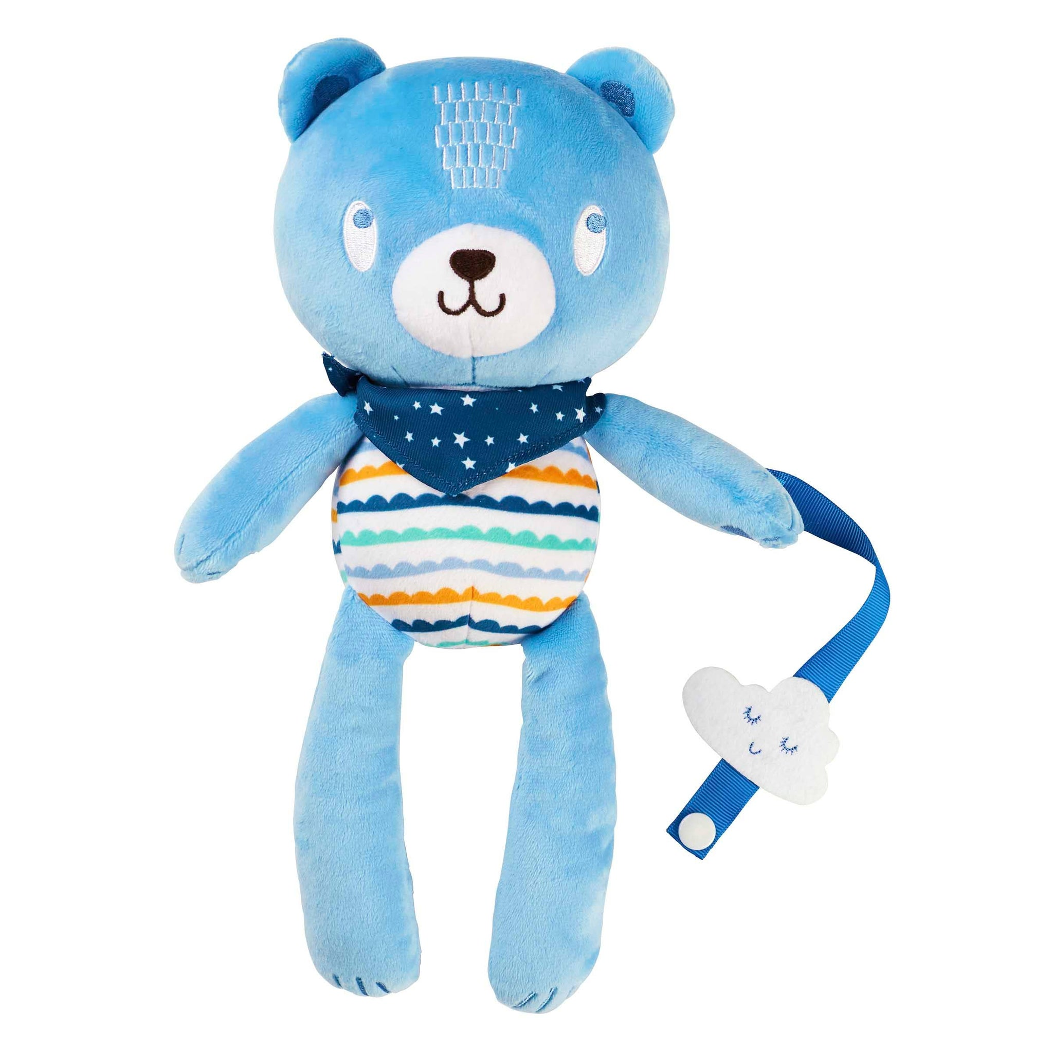 Bear- Plush With Paci Clip