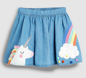 Rainbow/Unicorn Skirt