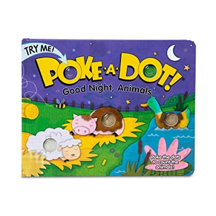 Poke-A-Dot Good Night, Animals