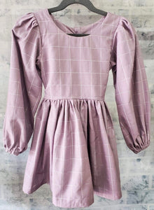 Lavender Long Sleeve Dress