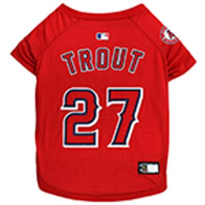 Mike Trout Dog Tee Shirt